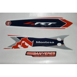 Rear fender original adhesives Montesa 4RT standard model 2017