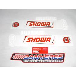 Original Honda stickers for Montesa Cota 301 RR fork year 2020.