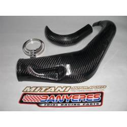 Carbon protectors Mitani standard front exhaust for Beta EVO 2-stroke