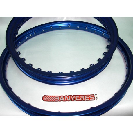 Special Kit DID rims front and rear original blue recessed