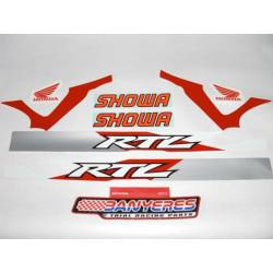 Honda official stickers kit - HRC chassis for Montesa cota 4RT decoration RTL year 2010.