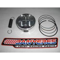High compression piston kit with 2 replacement rings displacement 280c.c. for Mitani kit.