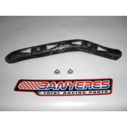 Front exhaust carbon guard Beta EVO 4T by 2010