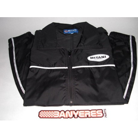 Team Rain Jacket size XL black Mitani 2010-LM