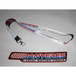 Ribbon for identification pendants with new logo design Jbanyeres Parts.