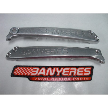 Radiator rib milled lightened chassis silver jbanyeres Montesa 4RT