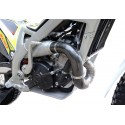 Mitani front exhaust carbon protector for bike TRS.