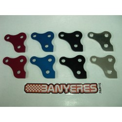 Trapeze aluminum rear suspension Mitani 7075. For Montesa 4RT.