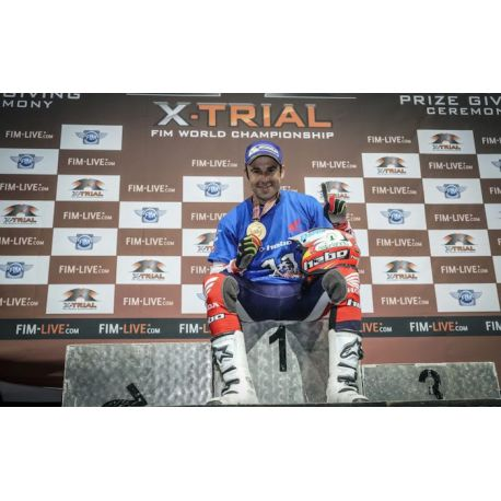 Camiseta Toni Bou Campeon del mundo de  x-trial indoor 2017, tallas S-M-L-XL.