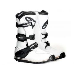 Alpinestars Boots Tech trial new model  white.