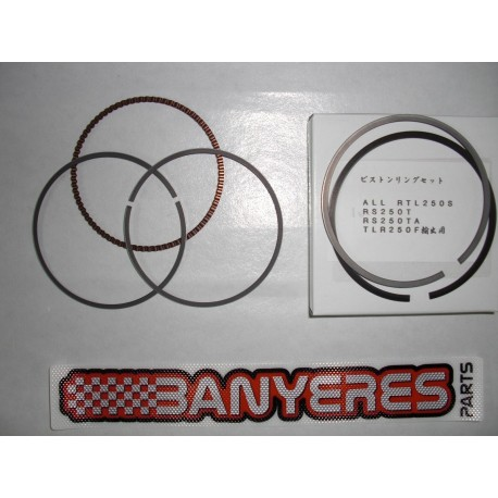 Kit aros piston originales para Honda RTL 250S-TLR 250R-RS 250S