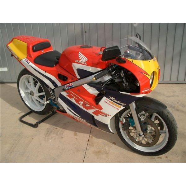 honda rc30 1989 exclusive material hrc swingarm exhaust brakes tires etc banyeres trial. Black Bedroom Furniture Sets. Home Design Ideas