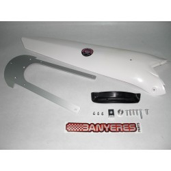 White plastic rear fender for Beta EVO 2009 -2016.