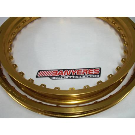 Kit special original DID front and rear wheels gold color, Made in Japan ..