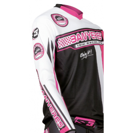 T-shirt special trial long sleeve Jbanyeresparts color pink