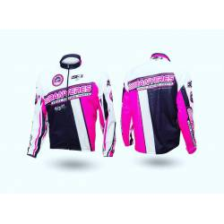 1.Lightweight / Lightweight 2. Wind Proof / protects from the wind 3. Water repellant / Resistant to algua, Color pink- fuchsia